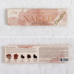 100% Pure Makeup - 100% Pure Fruit Pigmented® Better Naked Palette
